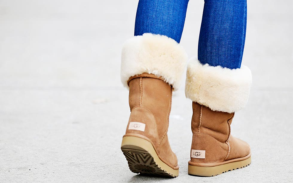 No Socks With UGG Boots